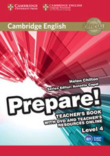 Prepare! 4 Teacher´s Book w. DVD & Teacher´s Resources Online
