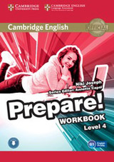 Prepare! 4 Workbook with Audio