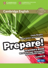 Prepare! 6 Teacher´s Book w. DVD & Teacher´s Resources Online