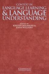 kniha prezentuje n�zory �ady odborn�k� r�zn�ch discipl�n souvisej�c�ch s jazykem na ot�zku, jakou roli hraje kontext v jazykov�m vzd�l�v�n�.