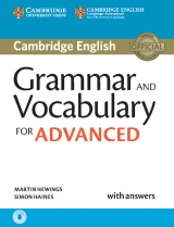 Grammar and Vocabulary for Advanced (CAE) with Answers and Audio Download