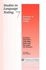 slovn�k zam��en� na jazykov� testov�n�