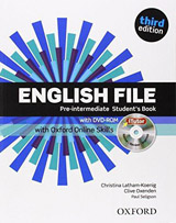 English File Pre-Intermediate (3rd Edition) Student´s Book with iTutor & Online Skills