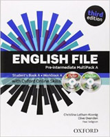 English File Pre-Intermediate (3rd Edition) MultiPACK A with Online Skills