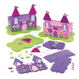 Sada k výrobì 3D zámku pro princezny (2ks)