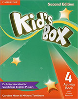 Kid´s Box 4 2nd Edition Activity Book