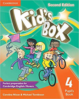 Kid�s Box 4 2nd Edition Pupil�s Book