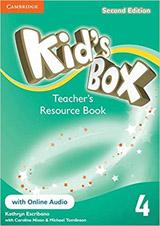Kid´s Box 4 2nd Edition Teacher´s Resource Book