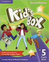 Kid´s Box 5 2nd Edition Pupil´s Book