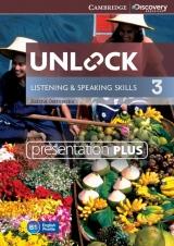 Unlock 3 Listening & Speaking Skills Presentation Plus DVD-ROM