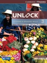 Unlock 3 Listening & Speaking Skills Student�s Book with Online Workbook