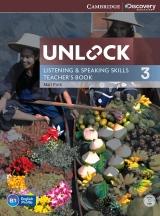 Unlock 3 Listening & Speaking Skills Teacher�s Book with DVD