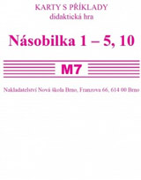 Sada kartièek M7 - násobilka 1-5,10 - Mgr. Zdena Rosecká (2-18)