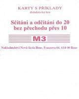 Sada kartièek M3 - sèítání a odèítání do 20 bez pøechodu pøes 10 - Mgr. Zdena Rosecká (1-17)