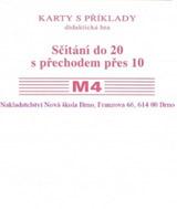 Sada kartièek M4 - sèítání do 20 s pøechodem pøes 10 - Mgr. Zdena Rosecká (2-15)