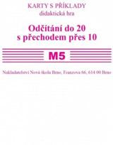Sada kartièek M5 - odèítání do 20 s pøechodem pres10 - Mgr. Zdena Rosecká (2-16)