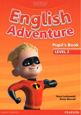 New English Adventure 2 Pupil´s Book and DVD Pack