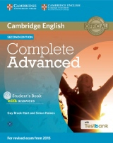 Complete Advanced (2nd Edition) Student´s Book with Answers with CD-ROM & Testbank