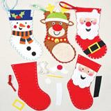 Šitíèko vánoèní punèochy (3 ks)