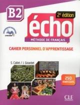 Echo B2 - 2e édition - Cahier d´exercices + CD audio