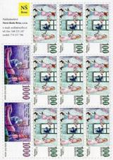 Papírové bankovky – karta