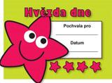 A6 malý certifikát Hvìzda dne 32 kusù