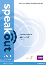 Speakout 2nd Edition Intermediate WB with Key