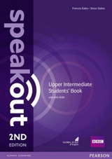 Speakout 2nd Edition Upper Intermediate Student´s Book and DVD-ROM