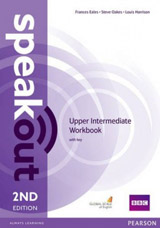 Speakout 2nd Edition Upper Intermediate WB with key