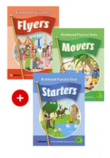 Richmond Practice Tests Starters SB with Audio CD + Richmond Practice Tests Movers SB with Audio CD + Richmond Practice Tests Flyers SB with Audio CD