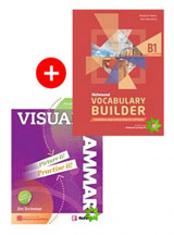 Visual Grammar 2 SB with Answers and Internet Access Code + Richmond Vocabulary Builder B1 Student´s Book with Answers and Internet Access Code