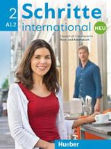 Schritte international Neu 2 Kursbuch + Arbeitsbuch mit Audio-CD