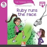 Thinking Train Level E Ruby runs the race