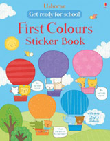Get ready for school first colours sticker book