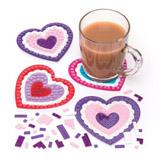 Sada k výrobì mozaikového tácku srdce (6ks)