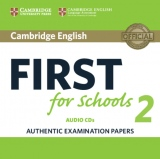 Cambridge English First for Schools 2 Audio CDs /2/