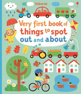 Very first book of things to spot out and about