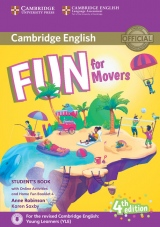 Fun for Movers Student´s Book with Home Booklet and online activities