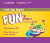 Fun for Movers 4th Edition Audio CD