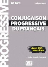 Conjugaison Progressive du Francais niveau débutant - Livre + CD audio