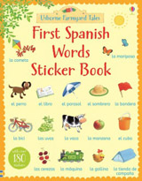 Farmyard Tales First Spanish Words Sticker Book