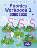 Usborne Very First Reading Phonics Workbook 1