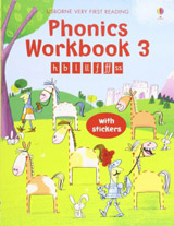 Usborne Very First Reading Phonics Workbook 3