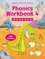 Usborne Very First Reading Phonics Workbook 4