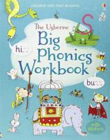 Usborne Very First Reading  Big Phonics Workbook  (bind-up)