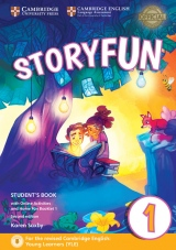 Storyfun for Starters Level 1 Student´s Book with Online Activities and Home Fun Booklet