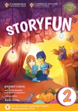 Storyfun for Starters Level 2 Student´s Book with Online Activities and Home Fun Booklet