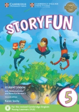Storyfun for Flyers Level 5 Student´s Book with Online Activities and Home Fun Booklet