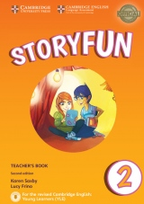 Storyfun for Starters Level 2 Teacher´s Book with Audio