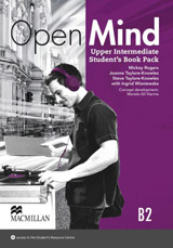 Open Mind Upper Intermediate Student´s Book with Video-DVD & Webcode